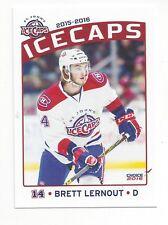 2015-16 St. John's IceCaps (AHL) Brett Lernout (Laval Rocket)