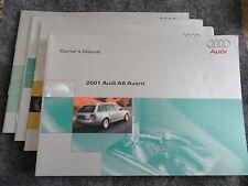 2001 Audi A6 Avant Owners Manual