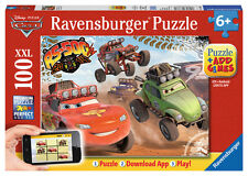 CHILDRENS DISNEY CARS AUGMENTED 100 XXL PIECE JIGSAW PUZZLE RAVENSBURGER