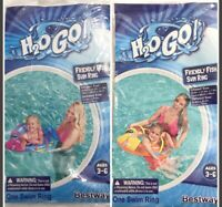 Bestway H2O GO Inflatable Friendly Fish Swim Ring Choose Color