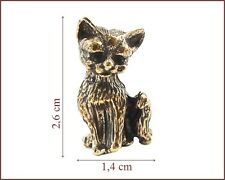 **  CAT Katze Kätzchen Metallfigurchen   #  3