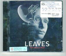(HJ544) Leaves, The Angela Test - 2005 SE CD