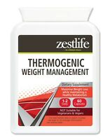 Zestlife T5 Thermogenic Weight Management 60 capsules fat burner, weight loss