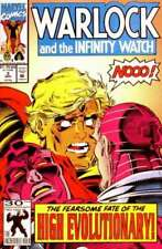 Warlock and the Infinity Watch #3 in NM minus condition. Marvel comics [*66]