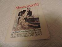 Sheet Music Magazine (March 1987)