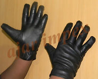 Winter Real 100% Sheep Leather Gloves Warm Winter Wear, Archery Gloves,Driving
