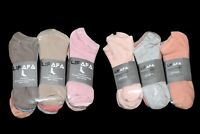 6 Pairs Womens Dress Casual Warm Socks 100% Cotton Soft Candy Color Ankle