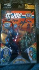 Gi Joe 25th aniversario comic pack DESTRO and Interruptor MIB
