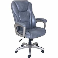 Office Chair with Memory Foam Serta Big & Tall Commercial Gray