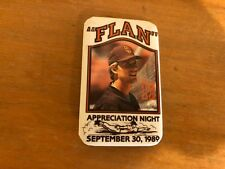 Vintage TIM FLANNERY S.D. PADRES 1989 FLAN Appreciation Night Pin - SGA