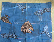 Star Wars Vehicle Diagram Standard Pillow Sham Trilogy Home Collection