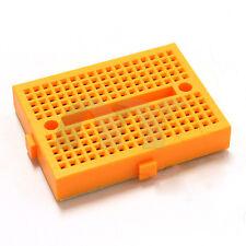 10pcs Yellow 170 Tie-point Prototype Solderless PCB Breadboard for Arduino DIY