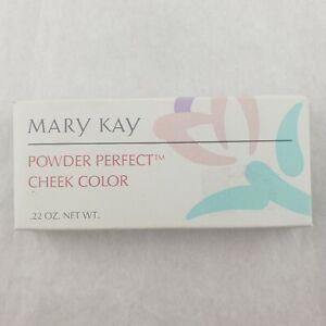 Mary Kay Powder Perfect Cheek .22 Oz Discontinued - NEW BOX - YOU CHOOSE COLOR