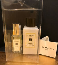 JO MALONE, LIME BASIL & MANDARIN, COLOGNE SPRAY & BODY+HAND LOTION,TRAV SIZE NEW