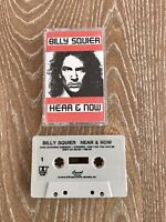 Billy Squier Here & Now Cassette Tape Capitol Records 1989