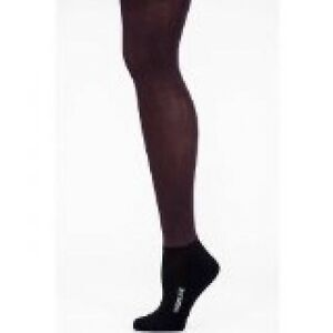 Bootights Boot Tights Semi Opaque Burgandy Ankle Sock Control Top Size A D New!