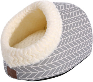 Cat Bed for Indoor Cats,Medium Large Cats Cave Bed,Machine Washable