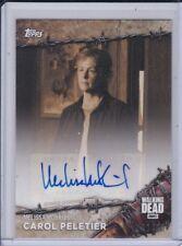 2017 Topps The Walking Dead 8S-A Melissa McBridge Carol Peletier Autograph 02/10