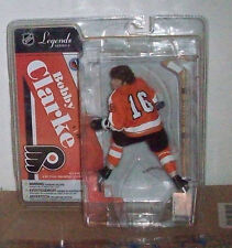 McFARLANE NHL LEGENDS 4 BOBBY CLARKE VARIANT FLYERS HOCKEY ACTION FIGURE