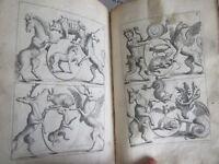 Verrien Recueil d'emblemes devise medailles chiffres cimiers et explication 1696