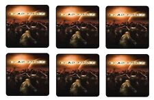 DEAD SPACE COASTERS 1/4 BAR & BEER SET OF 6