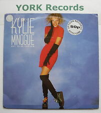 "KYLIE MINOGUE - Got To Be Certain - Excellent Condition 7"" Single PWL 12"