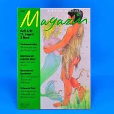 Das Magazin 8/1991   Akt Erotik   Nachf. der DDR-Kult-Zeitschrift Geburtstag