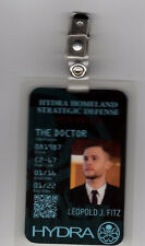 Agents Of Shield ID Badge - Hydra Leopold J. Fitz cosplay prop costume