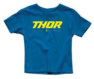 Thor MX Motocross Toddler Loud 2 T-Shirt (Royal Blue) Choose Size