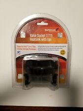 StarTech Value Socket T/775 Heatsink with Fan, 12V, New Sealed