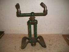 Vintage Cast Iron Majestic Rain King Lawn Sprinkler Chicago Flexible Shaft Co H1