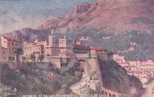 TUCK # 35: MONACO , 1922; Le Palais Du Prince Et La Tete De Chien