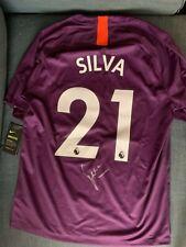 Manchester City David Silva Autographed Signed EPL Jersey COA BNWT
