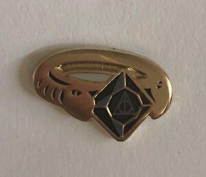 Harry Potter Oddment & Tweak Mini Horcrux Pin / Deathly Hallows Riddle Ring
