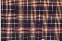 "RETRO Fabric Wool Blend 1 3/4 yd  58""wide Plaid Multi Colored"