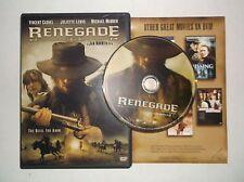 Renegade (DVD, 2004) Juliette Lewis, Michael Madsen, Vincent Cassel, Western