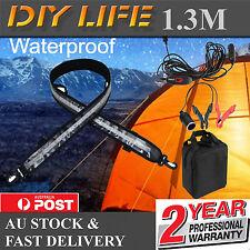 1.3M Flexible LED Camping Lights 5050 SMD Caravan Boat Waterproof Bar Strip 12V