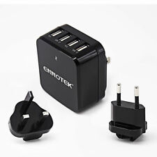ORICO 30w 6 Amp 4 Port Fast Multi USB Wall Charger EU Plug Travel Power Adapter