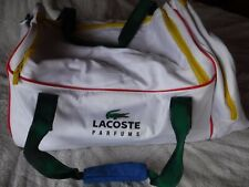Lacoste Perfumes White Unisex Duffle Bag Pre Owned