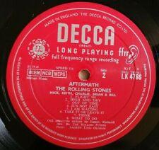 Rolling Stones LP Aftermath UK Decca Mono 1st Press -IB -3A