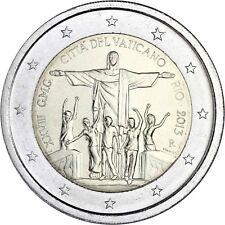 Vatikan 2 Euro 2013 Weltjugentag in Rio de Janeiro Gedenkmünze im Folder