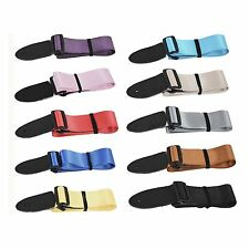 Sleek Smooth and Shiny Deluxe Quality Classic Guitar Strap UK childrens kids UK