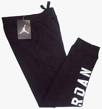 NWT NIKE AIR JORDAN Little Boys JUMPMAN Fleece Jogger Sweat Pants BLACK Child 7