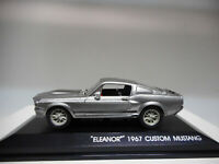 FORD MUSTANG SHELBY ELEANOR 60 SECONDS SEGUNDOS GREENLIGHT 1:43