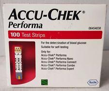 Accu Chek Performa Test Strips 500 Strips (100 Strips x 5 Boxes)