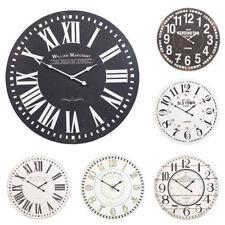 Horloges murales art déco avec affichage 12 heures pour la maison
