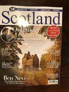 SCOTLAND MAGAZINE OUTLANDER SAM HEUGHAN MEN IN KILTS MAY/JUNE 2021 ISSUE 116