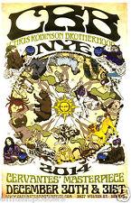 Chris Robinson Brotherhood 2014 Denver Concert Tour Poster-Black Crowes-Jam Rock