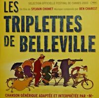 BO LES TRIPLETTES DE BELLEVILLE PAR M - [ PROMO CD SINGLE ]