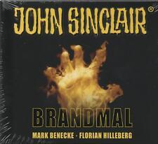 JOHN SINCLAIR - BRANDMAL - Mark Benecke - 3 x CD SET - NEU